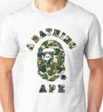 camo bathing ape T-Shirt