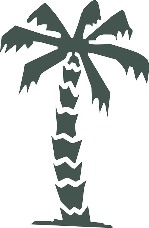 Quot Afrika Korps Palm Tree Quot Stickers By Tyrannus Redbubble