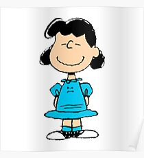 The Peanuts - Lucy Poster