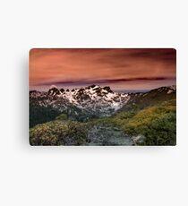 Sierra Buttes 052917 Canvas Print