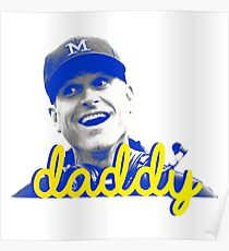 Daddy Harbaugh Poster