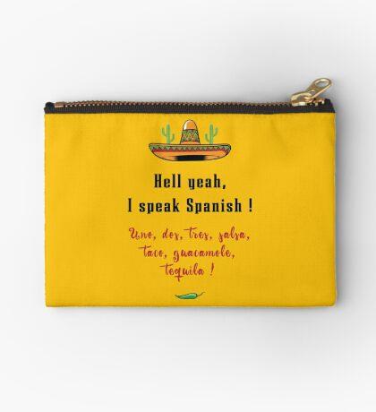 Hölle Ja, sprich Spanisch Täschchen