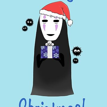 No Face Christmas! by tuniit