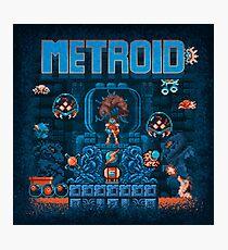 Metroids Photographic Print
