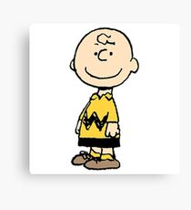 The Peanuts - Charlie Brown Canvas Print