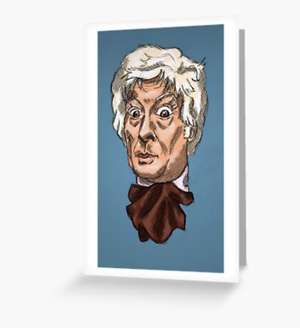 Third Lord of Time Greeting Card