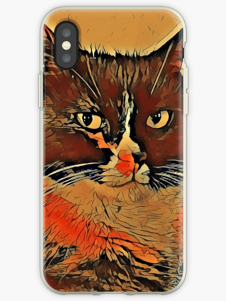innovative design e62a4 ceee4 'Cat, smartphone cases and skins' iPhone Case by bsilvia