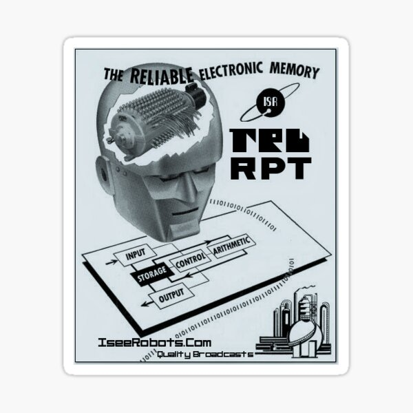 TRU RPT Reliable Memory Sticker Sticker