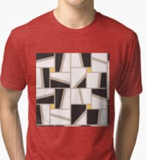 Stylish geometric pattern Tri-blend T-Shirt