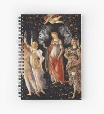 Primavera, by Botticelli Spiral Notebook