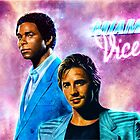 MIami Vice - Crockett and Tubbs  by p1xer