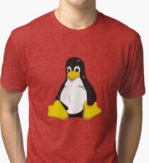 Linux - Tux Tri-blend T-Shirt
