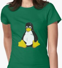 Linux - Tux Womens Fitted T-Shirt