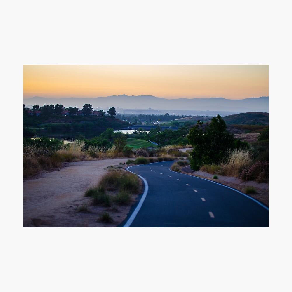 Sunset at Quail Hill Trail Photographic Print