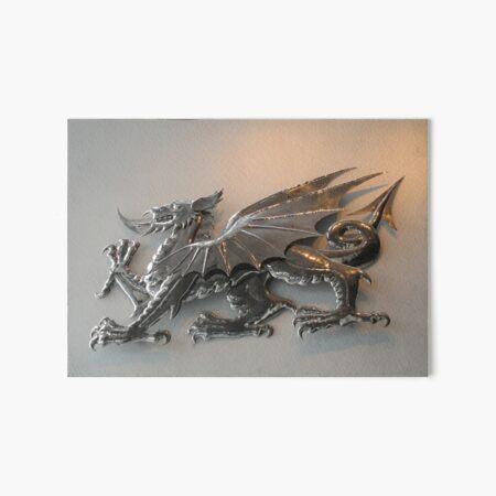 The Welsh Dragon. Art Board Print