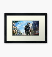 Watch Dogs 2 - Marcus Framed Print