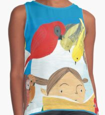 The Birds Loved Stories Contrast Tank