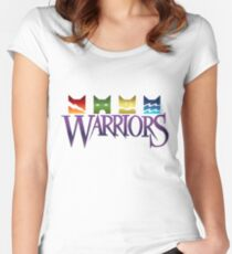 Warrior Cats Logo Women's Fitted Scoop T-Shirt