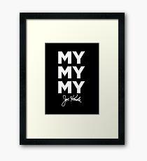 mymymy kenda Framed Print