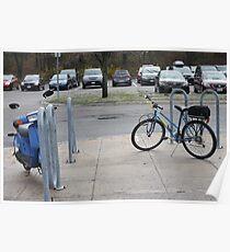Biking Poster