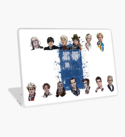 Lords of Time Collective Laptop Skin