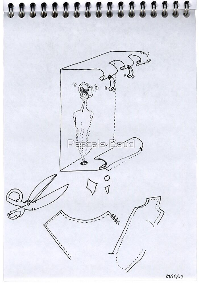 Petits Dessins Debiles - Small Weak Drawings#10 by Pascale Baud