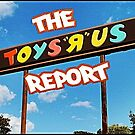 The Toys R Us Report Sign and Such by IseeRobots