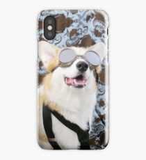 Steampunk Corgis  iPhone Case/Skin