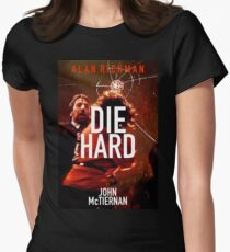 DIE HARD 29 Womens Fitted T-Shirt