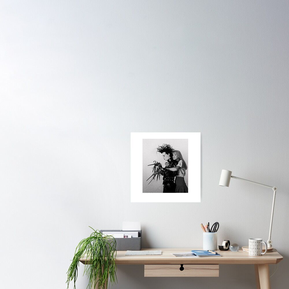 Edward Scissorhands & Kim Poster