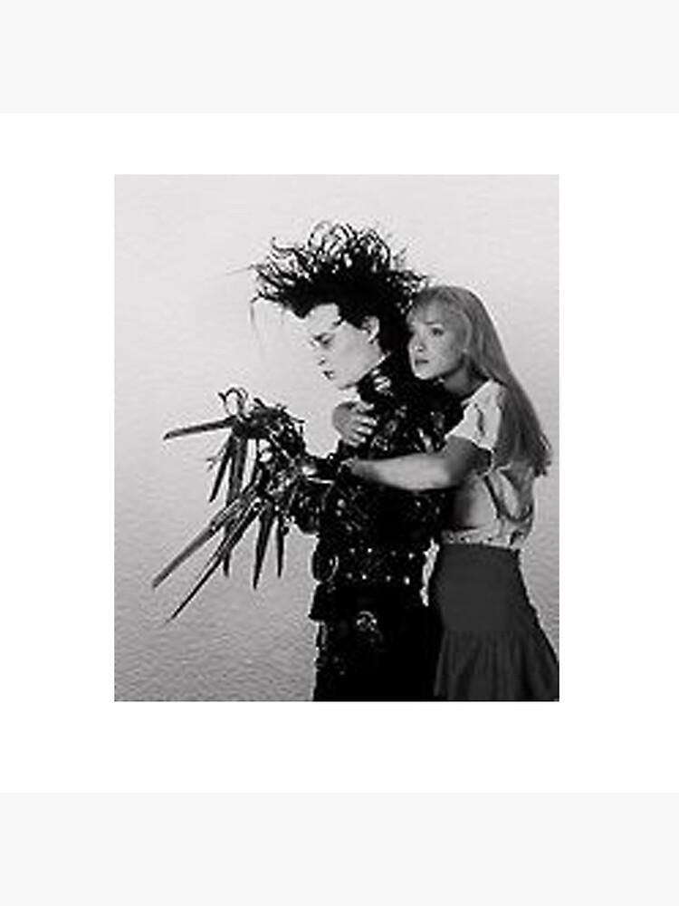 Edward Scissorhands & Kim by JemmaOtoole