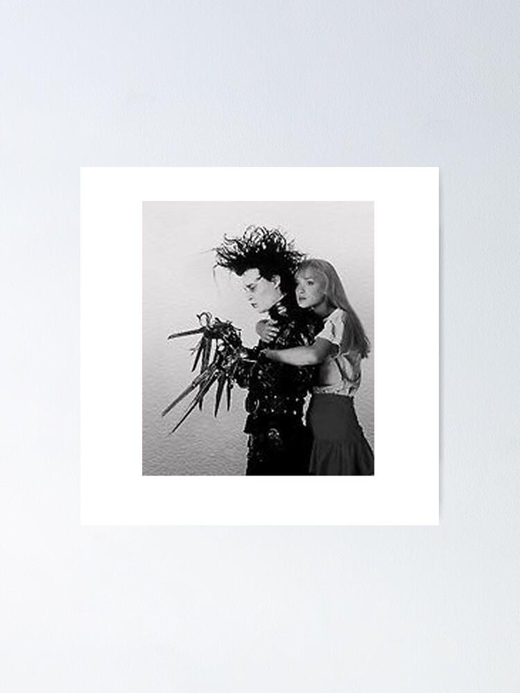 Alternate view of Edward Scissorhands & Kim Poster