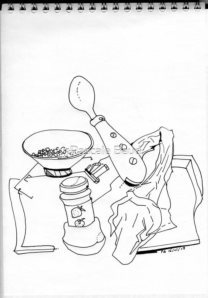 Petits Dessins Debiles - Small Weak Drawings#21 by Pascale Baud