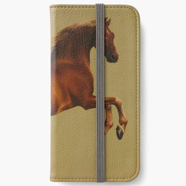 Whistlejacket by George Stubbs iPhone Wallet