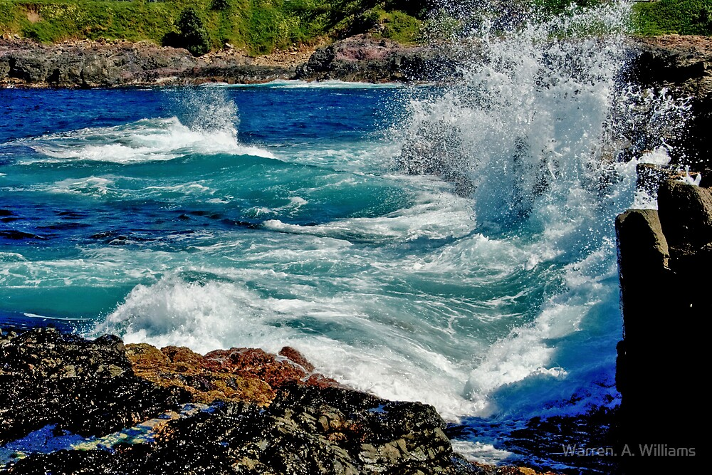 Wave Action by Warren. A. Williams