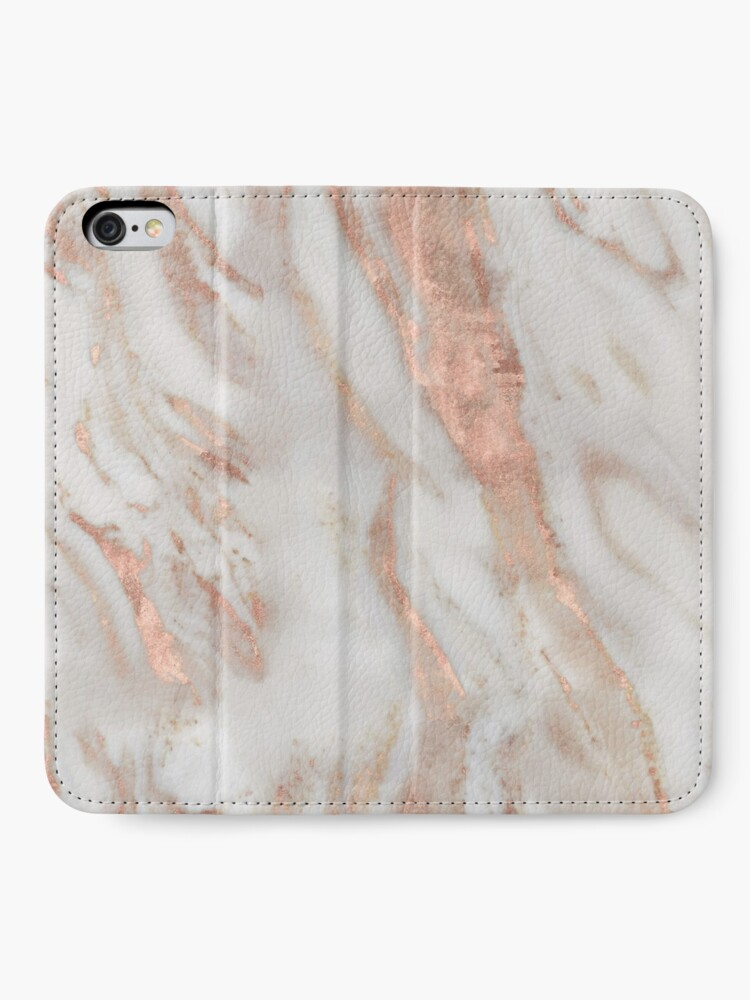 Alternate view of Civezza - rose gold marble iPhone Wallet
