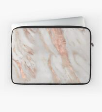 Civezza - rose gold marble Laptop Sleeve