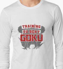 training to beat goku Long Sleeve T-Shirt