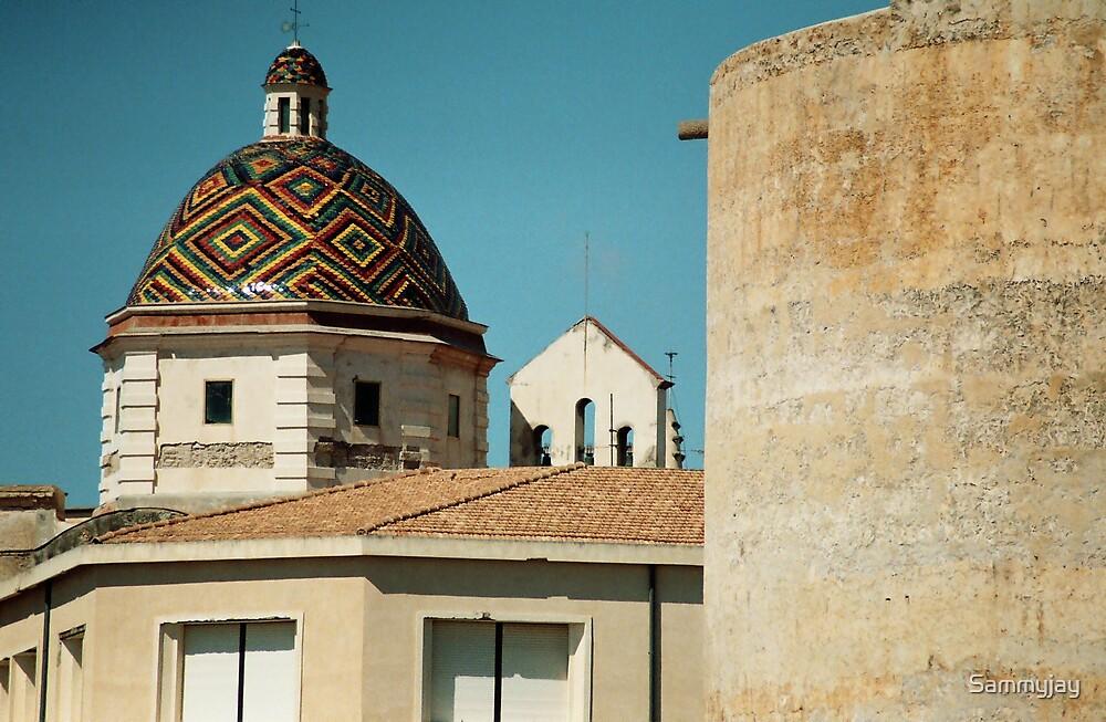 Sardinian Rooftops by Sammyjay