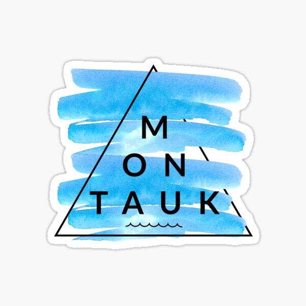 Montauk Triangle  Sticker