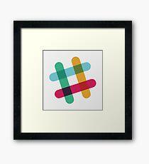 Slack Framed Print