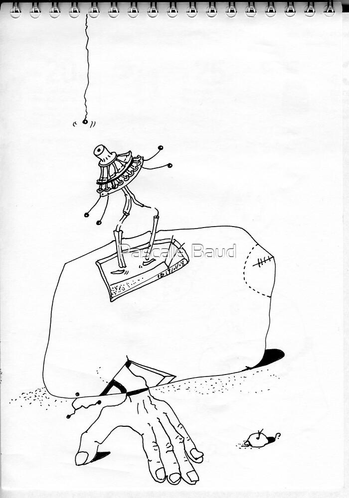 Petits Dessins Debiles - Small Weak Drawings#24 by Pascale Baud