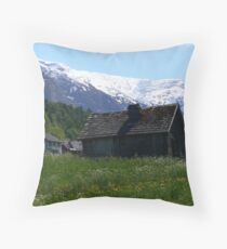 Pastures Green Throw Pillow