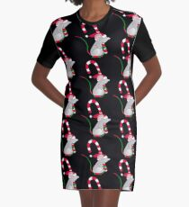 Christmas Tail™ Graphic T-Shirt Dress