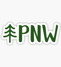 Pazifischer Nordwesten Sticker