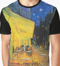 Cafe Terrace at Night by Van Gogh Graphic T-Shirt