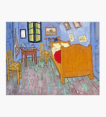 The Bedroom by Van Gogh Photographic Print