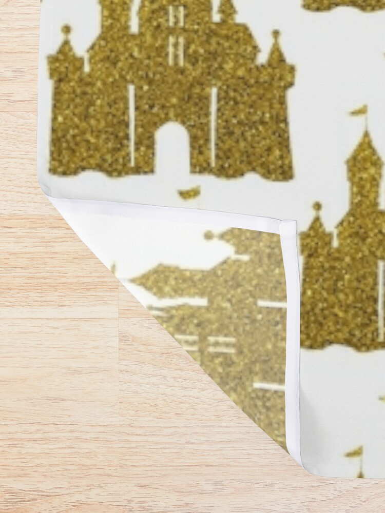 Alternate view of Gold Shower Curtain
