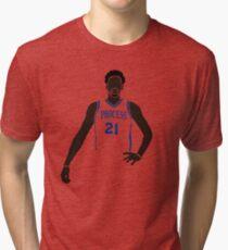"Joel Embiid ""The Process"" Tri-blend T-Shirt"