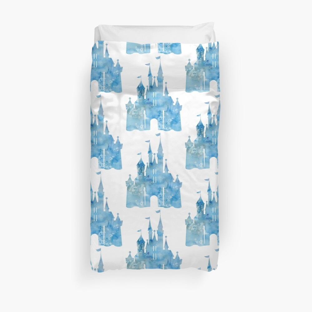 Blue Wishes Duvet Cover